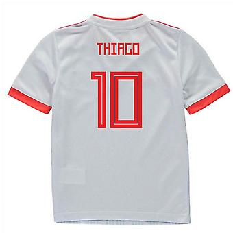 2018-2019 España Away Adidas Mini Kit (Thiago 10)