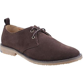 Stone Creek Mens Rocky Gibson 4 Eyelet Lace Up Oxford Shoes