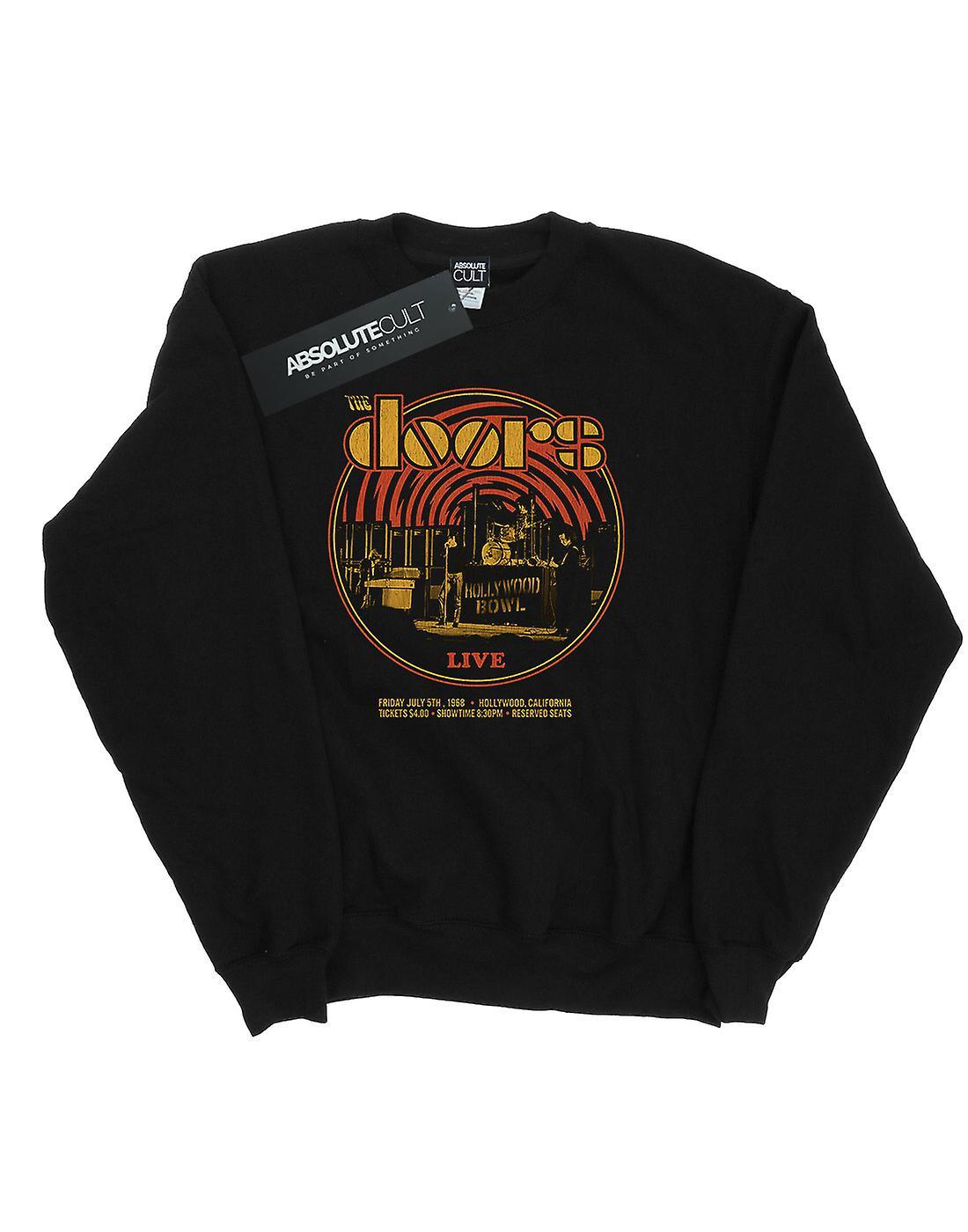 The Doors Girls Live 68 Retro Circle Sweatshirt