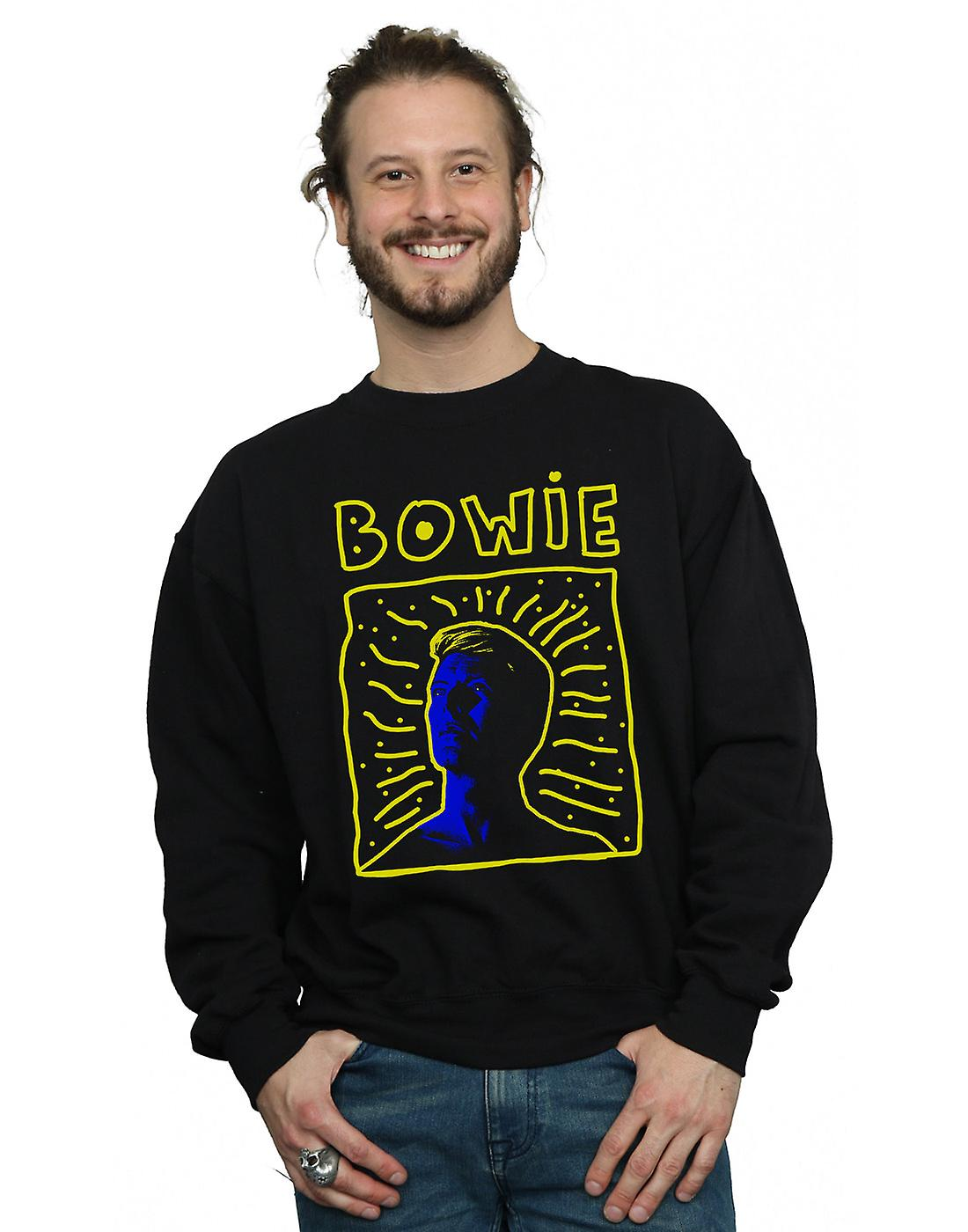 David Bowie Men's 90s Frame Sweatshirt