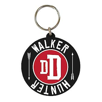 The Walking Dead Hunter Keyring