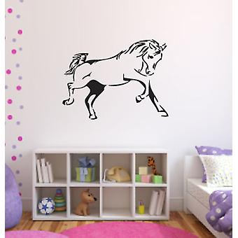 Trotting Horse Wall Sticker