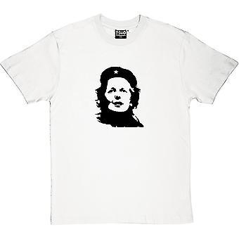 Margaret Thatcher Che Guevara Revolutionary White Men's T-Shirt