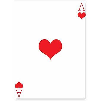 Ace of Hearts (Poker Night) - Lifesize Cardboard Cutout / Standee