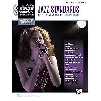 Jazz Standards: Female Voice, Volume 1: Deluxe Double Edition: 16 Great Songs! [With 2 CDs]