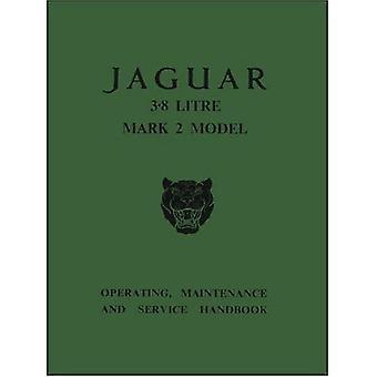 Jaguar 3.8 Mk.2 Handbook (officiële eigenaars handboeken)