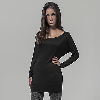 Build Your Brand Womens/Ladies Viscose Long Sleeve Tee