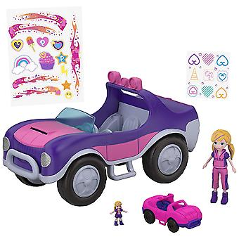 Polly Pocket FWY26 S.U.V eventyr hjul