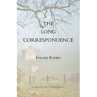 Last Correspondence: Poems