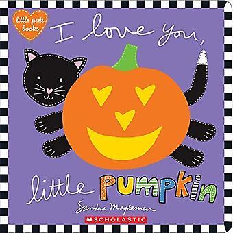 Ik hou van je, kleine pompoen [Board boek]