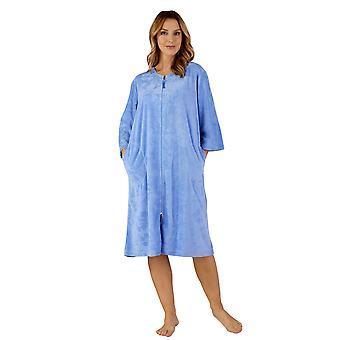 Slenderella HC3306 Women's Woven Robe Housecoat Dressing Gown
