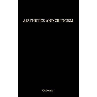 Estética e crítica. por Osborne & Harold