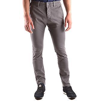 Stone Island Ezbc024010 Men's Grey Cotton Pants