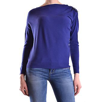 Liu Jo Ezbc086124 Women's Purple Viscose Sweater