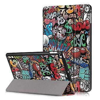 iPad Mini 2019/Mini 4 Slim fit Tri-fold case-Graffiti