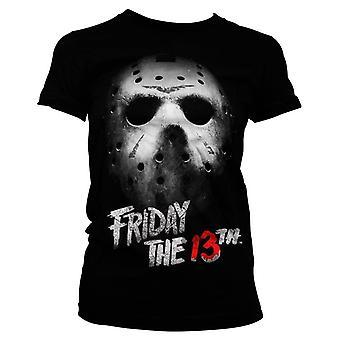 Women's Friday the 13th Jason Mask T-Shirt