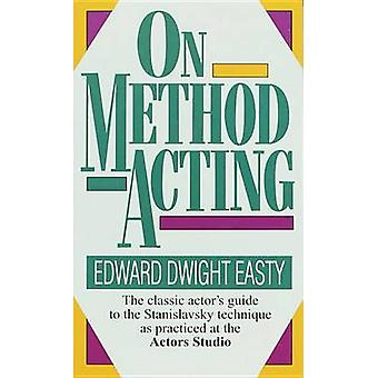 On Method Acting by Easty - 9780804105224 Book