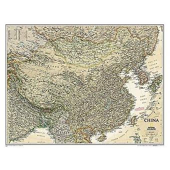 China Executive - Tubed - Wall Maps Countries & Regions by National Ge