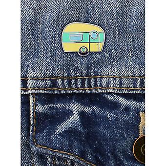 Grindstore Happy Camper emalje PIN badge