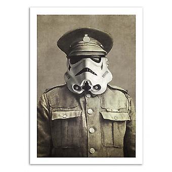 Art-Poster - Sgt. Stormley - Terry Fan 50 x 70 cm