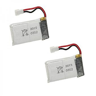 2 Pc 3.7V 850mAh 25C Lipo Battery Syma X5SW X5SC Quadcopters-Longer Flying Time