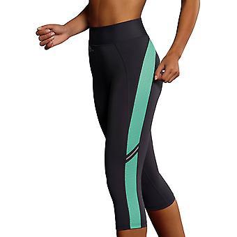 Anita 1685-840 Women's Active Anthracite Grey Calf Length Sports Pant