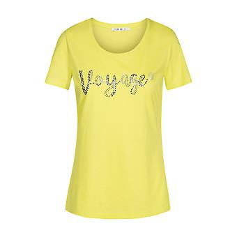 Féraud 3195352-11371 Women's Voyage Lime Yellow Loungewear Top