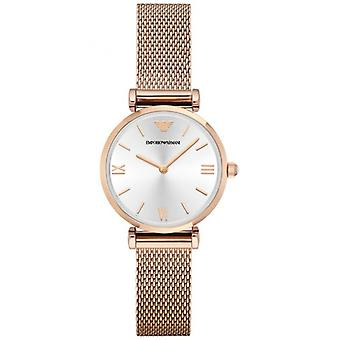 Emporio Armani Ar1956 Rose Gold Stainless Steel Women's Watch