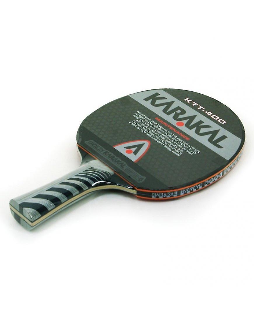 Karakal KTT-400 4 Star torneio padrão 2mm esponja de ataque de tênis de mesa bat