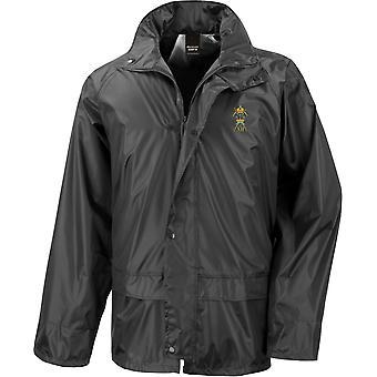 12th Royal Lancers - Licensed British Army Embroidered Waterproof Rain Jacket