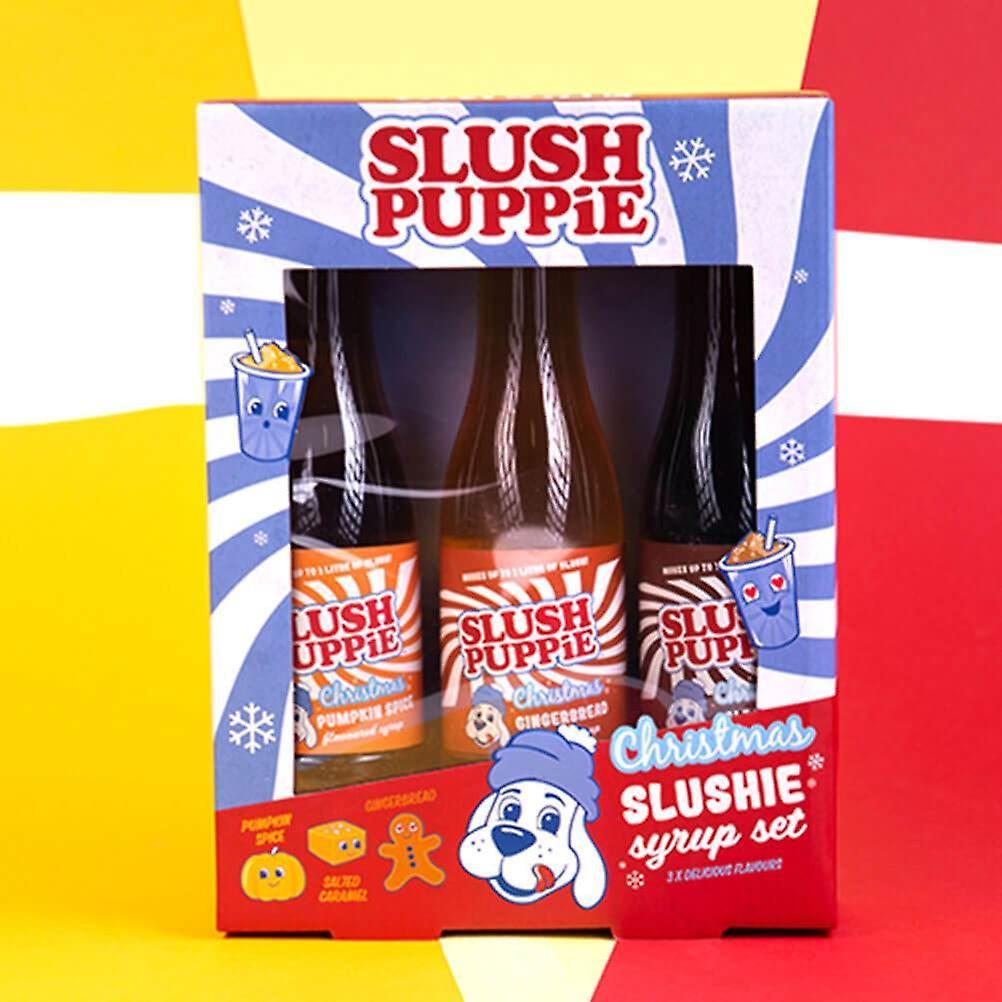 Slush Puppie Christmas Syrup Set - Pumpkin, Gingerbread and Salted Caramel