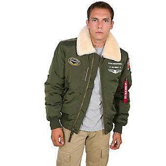 Alpha Industries Homme Veste d'hiver Injecteur III Air Force
