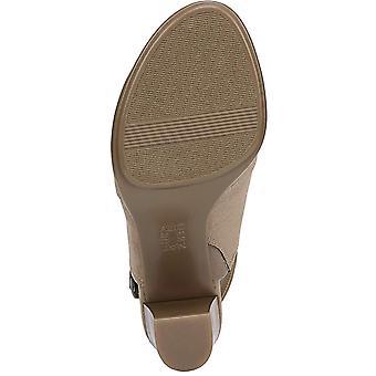 Naturalizer Womens Logic Fabric Peep Toe Ankle Strap Classic Pumps