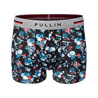 Pullin Master Flower Skull Underwear in Multi