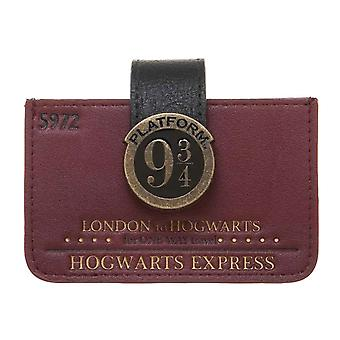 Harry Potter Purse Platform 9 3/4 Accordian Card Wallet new Official Red Womens