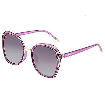 Bertha Jade Polarized Sunglasses - Purple/Black