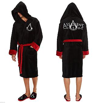 Assassins Creed dressing kjole/badekåbe-sort