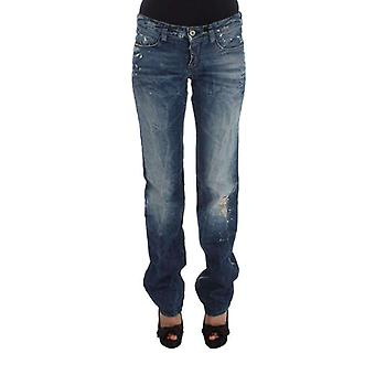 Blue Cotton Regular Fit Denim Jeans -- SIG3329349