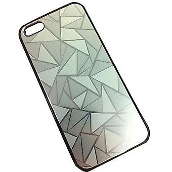 Apple Iphone 5 5S Skal Cover Vatten Kub Case Silver