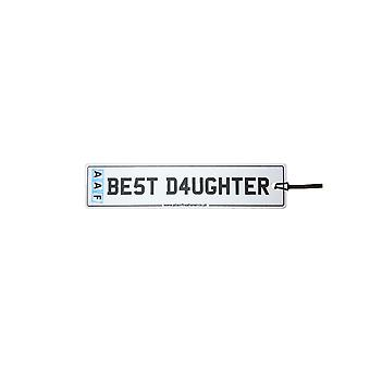 AAF - Best Daughter License Plate Car Air Freshener