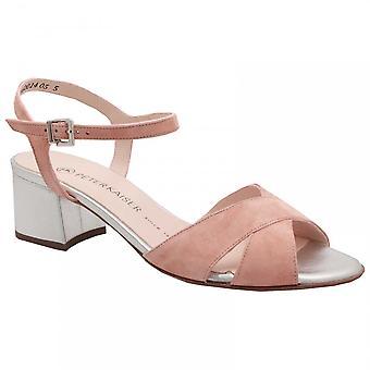 Peter Kaiser Celania Nude Block Heel Sandal