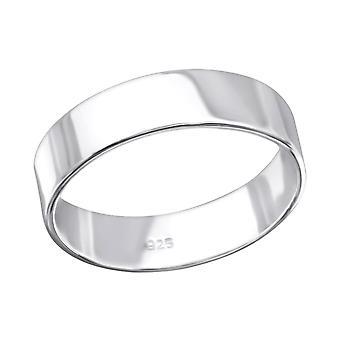 Bandă - 925 Sterling Silver Inele Plain - W28205x