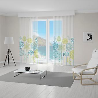 Meesoz Net Curtain - Green Spring