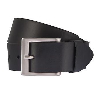 BERND GÖTZ belts men's belts leather belt leather black 2344