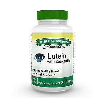 Luteina (come LuteMax® 2020) 20 mg (non OGM) (60 Softgels) - Salute Thru Nutrizione