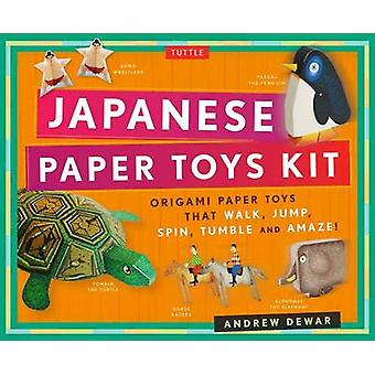 Japanese Paper Toys Kit by Andrew Dewar
