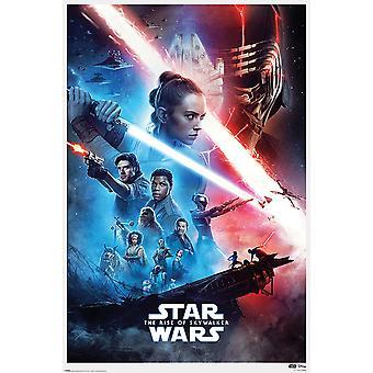 Star Wars Episodio 9 Cartel La Subida de Skywalker Una Hoja 91.5 x 61 cm