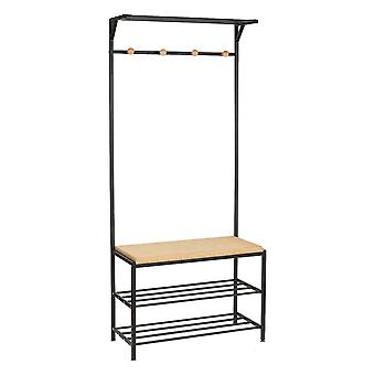 Tatkraft, Solution - Clothes hanger with bench
