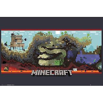 Minecraft, Maxi poster-ondergronds