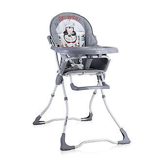 Chaise haute pour enfants Lorelli Marcel, pliable, encastrement de tasse, tissu lavable